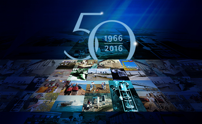 Tetra Tech's 50th Anniversary history booklet