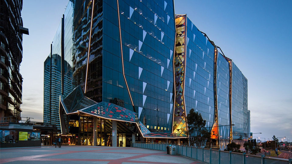 Tetra Tech provides services for the National Australia Bank located in Melbourne's Docklands.