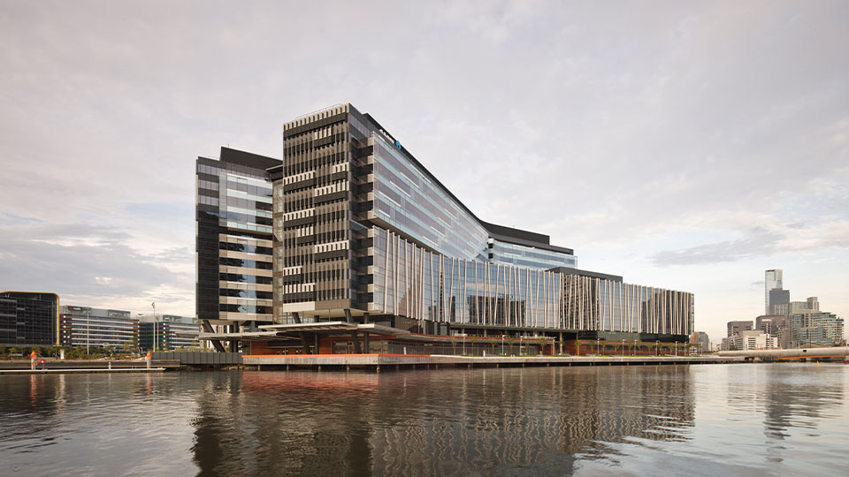 Tetra Tech provided ANZ Bank headquarters in Melbourne, Australia,  impressive energy efficiency and workplace.