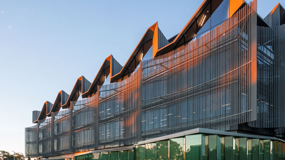 Monash University's Learning and Teaching Building in Melbourne, Australia.