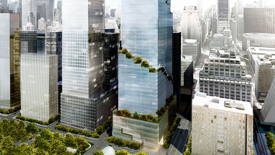 Tetra Tech is providing MEP and fire protection services for 66 Hudson Boulevard in New York.