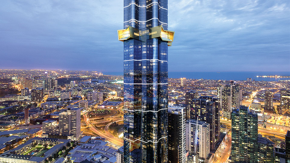 Tetra Tech provided sustainable building engineering and consulting for apartment building in Melbourne, Australia.
