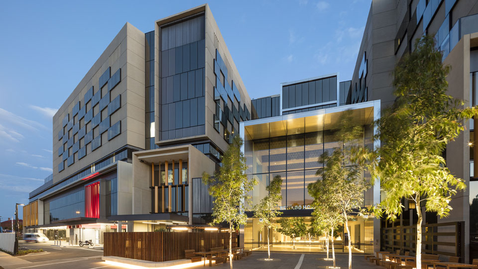 Tetra Tech contributed essential sustainable design services for New Bendigo Hospital in Australia.