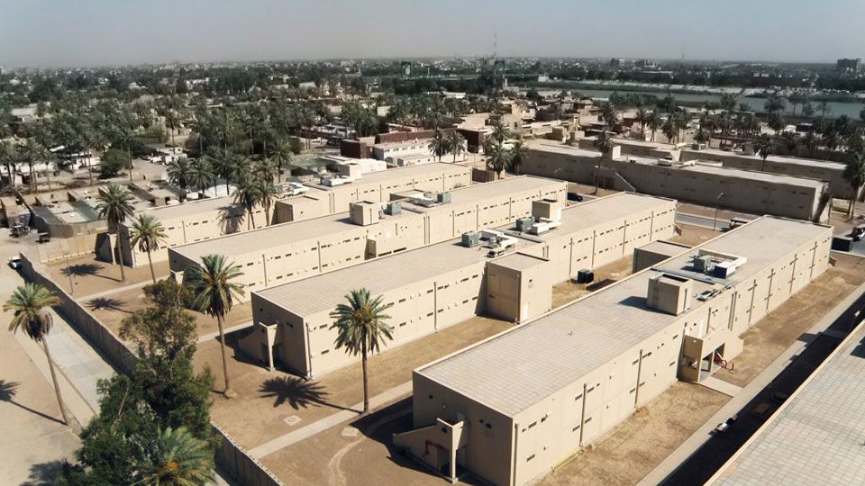 Tetra Tech provided full design of 11 two-story barracks buildings at the U.S. Embassy in Baghdad, Iraq
