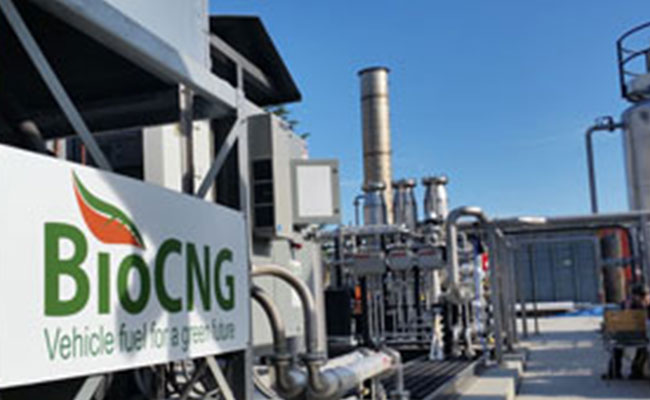 RNG CNG plant