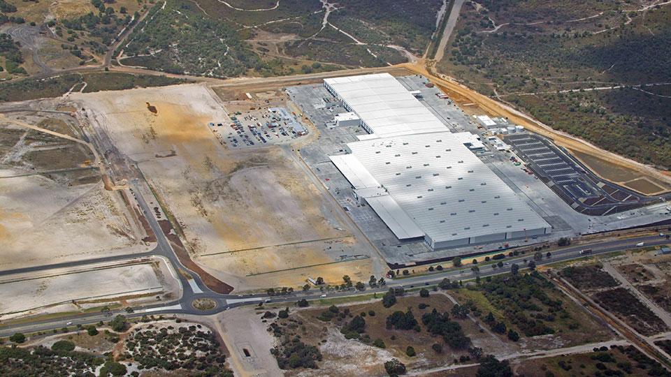 Coles distribution center, Perth, Western Australia