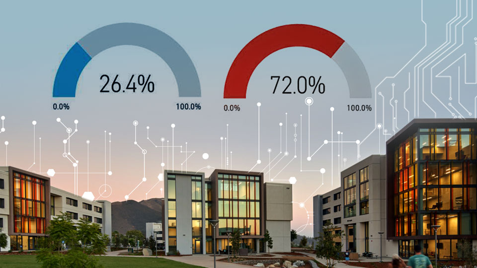Tetra Tech's building energy modeling team developed interactive dashboards for California State University.