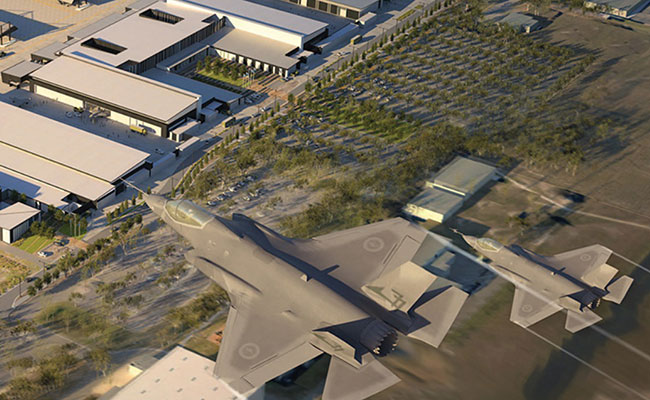 Tetra Tech supported the Australian Defence Force National Air Combat Capability (NACC) Infrastructure project