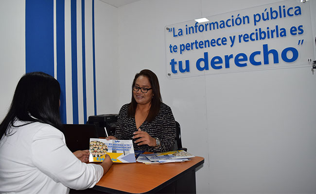 The project has equipped 30 IAIP Access to Public Information Units help ordinary citizens access public information.
