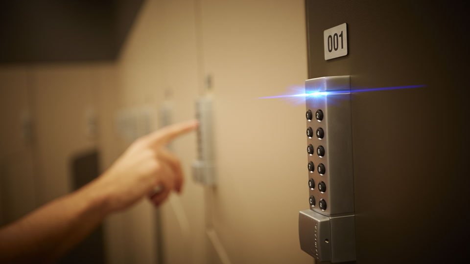 State of the art security within end-of-trip facilities is an expectation of today's tenants and end users.