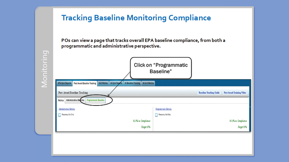 In the training program, Tetra Tech described procedures and tips for using EPA data management tools.