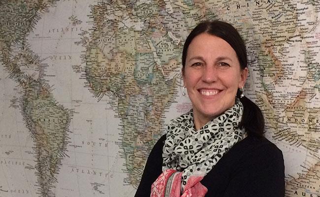 Terri Stiffler, Resettlement Expert