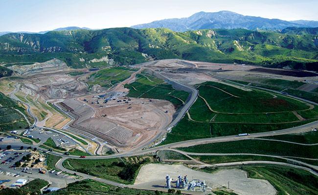 Frank R. Bowerman Landfill in California