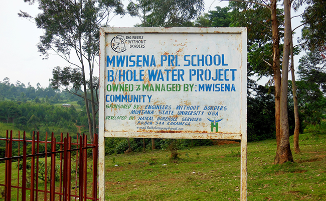EWB Bringing Sanitation Kenya Schools