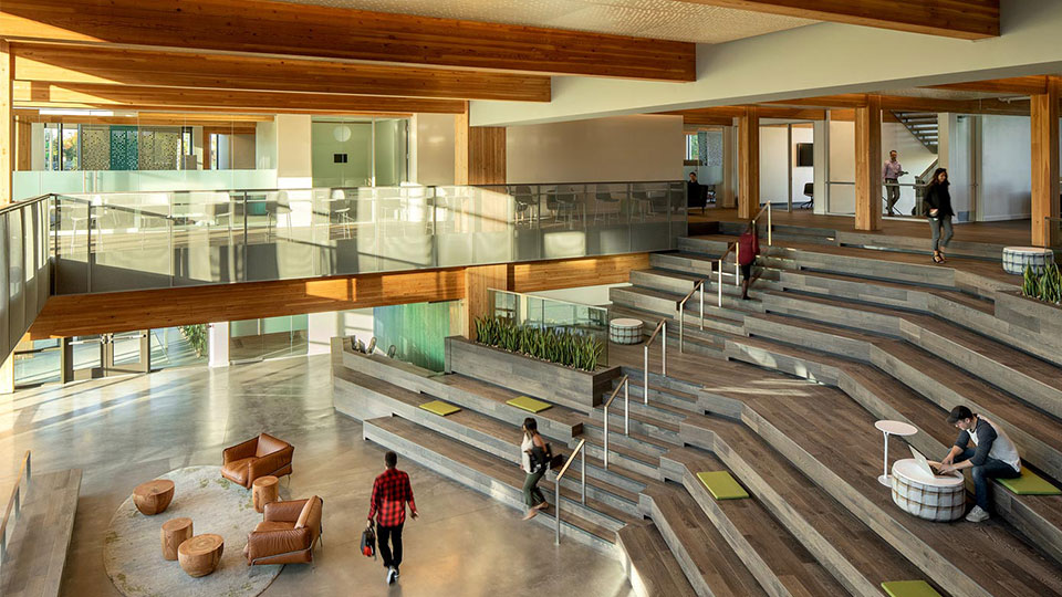 Tetra Tech provided mechanical and plumbing services for the First Tech Credit Union's new office headquarters in Oregon