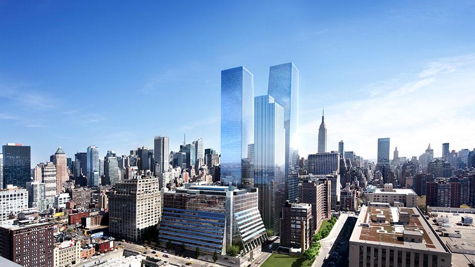 Five Manhattan West Office Building