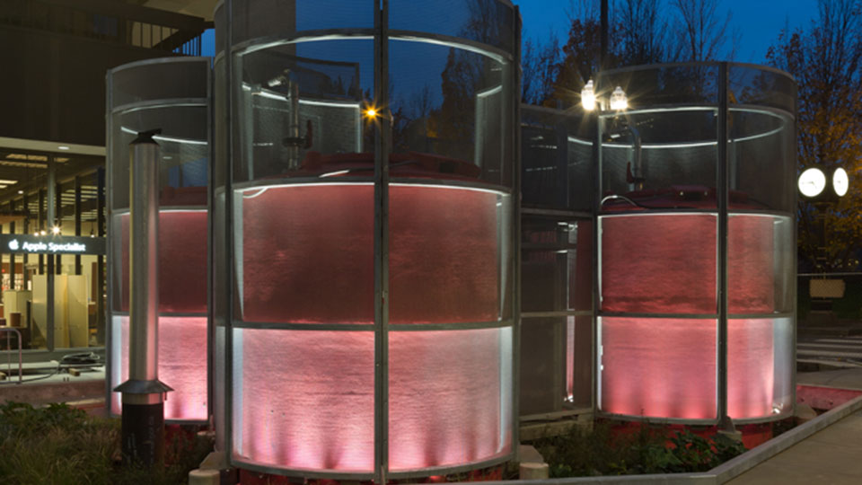 Hassalo on Eighth's Natural Organic Recycling Machine (NORM) was developed with Biohabitats, GBD Architects, and PLACE
