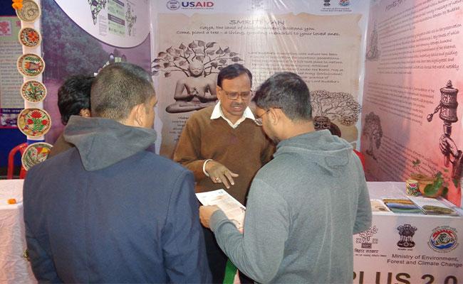 Tetra Tech initiated the Smriti Van Campaign,