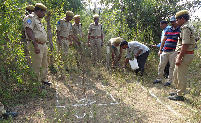 Tetra Tech trains Forest Department field staff in sample point data collection used to develop a forest inventory.