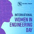 Tetra Tech champions diversity and inclusion by supporting and encouraging female engineers.