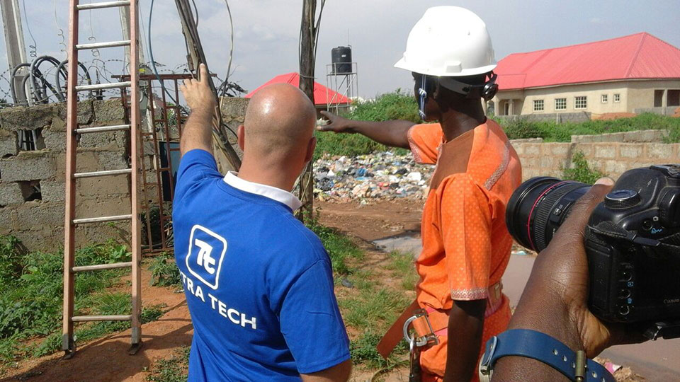 Tetra Tech's support to four privatized electricity companies in Nigeria includes training on power line maintenance to