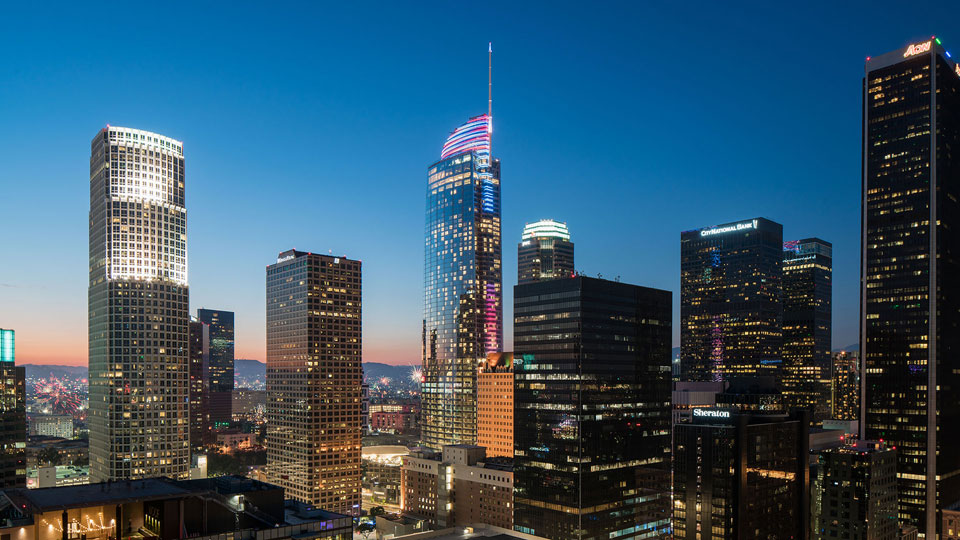 Tetra Tech's High Performance Buildings Group provided services for Wilshire  Grand