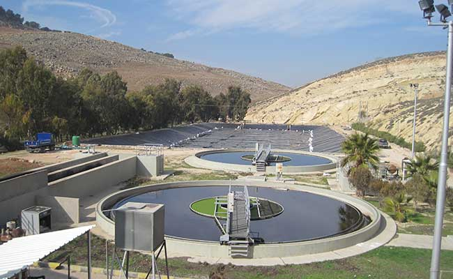 Our team visited wastewater treatment facilities in Jordan to help with improving treatment performance
