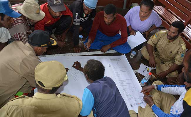 Mapping for medium-term development plans that prioritize Low Emissions Development Strategies and forest conservation