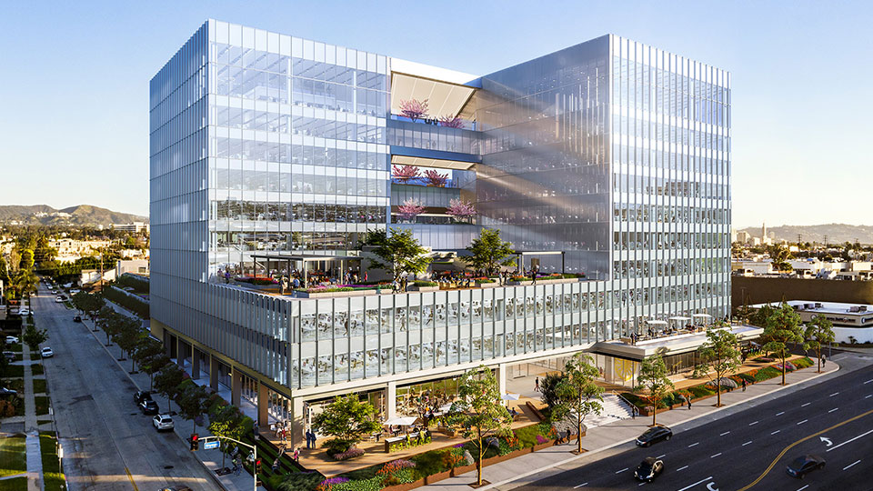 Tetra Tech is completing major renovation services at the Lumen Building in West Los Angeles.