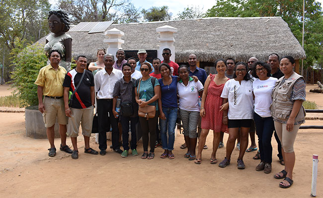 Tetra Tech's team supporting the USAID Madagascar Mikajy project.