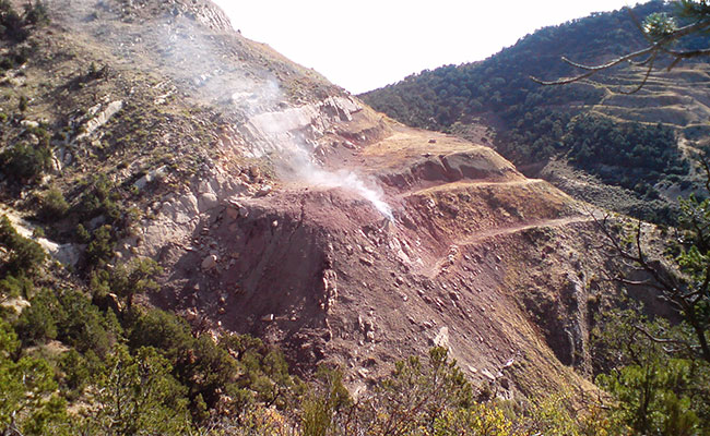 Historic Coal Mine Fires