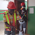 Helping USAID Improve Health Facility in Haiti
