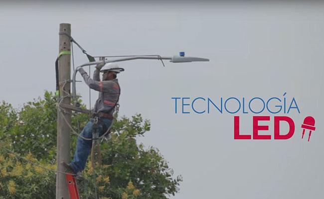 Energy Efficient Lighting in Zacatecoluca