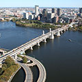 Massachusetts Bay Transportation Authority MBTA Boston Bridge