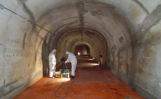 Sampling for chemical agent in the Kipapa ammunition storage tunnels, Hawaii