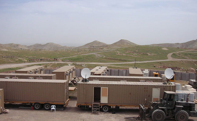 Tetra Tech mobile teams in Iraq were fully self-sustained