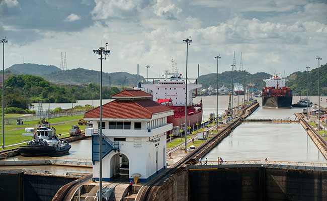 Installation of Innovative Panama Canal Third Set of Locks Underway