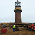 Historic Lighthouse Move