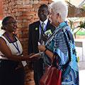 Tetra Tech and USAID greet the U.S. Ambassador to Uganda, Deborah R. Malac