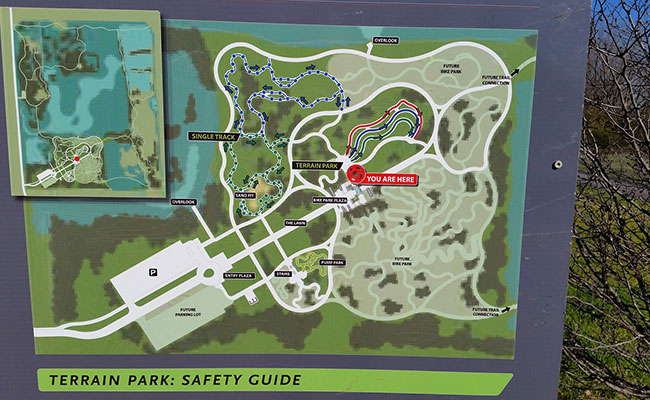 Big Marsh map and safety guide