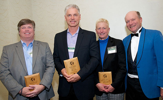 Tetra Tech received the Environmental Business Journal's Silver Medal in the Large Business Category for its strong fina
