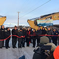 Tetra Tech and its partners planned and designed the award-winning Inuvik Tuktoyaktuk Highway in Canada.