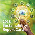 Tetra Tech's 2018 Sustainability Report Card highlights how the company supports sustainability and resilience around th