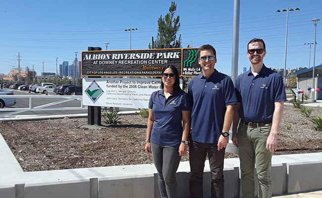 Tetra Tech Albion Riverside Park project team members