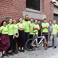Tetra Tech's large team winners for the 2019 Bike to Work Week Challenge hail from Melbourne, Australia.