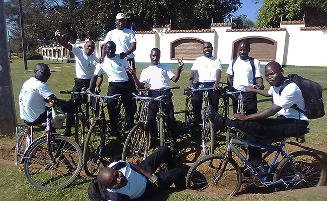 Tetra Tech's small team winners for the 2019 Bike to Work Week Challenge are from Lilongwe, Malawi!