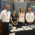 WYG staff and two ex-services employees ready to speak with veterans about employment opportunities outside the military