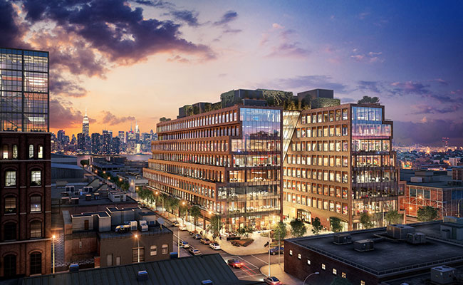 New State Of The Art Office Building In Brooklyn New York Tetra Tech
