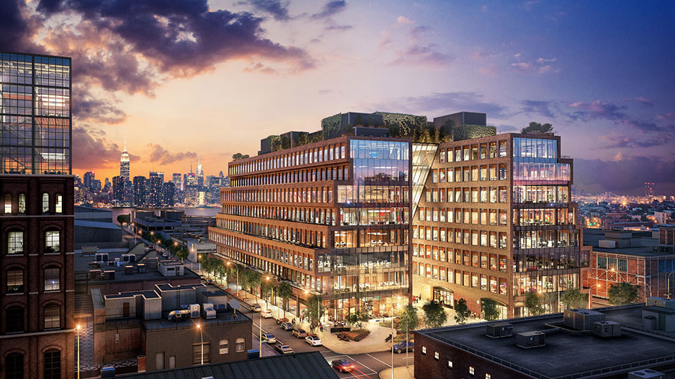 Kent 25, the first ground-up office building in Williamsburg