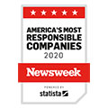 Tetra Tech is recognized as one of America's Most Responsible Companies 2020 by Newsweek.